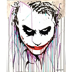 Painting from Curro Leyton - Joker by Leyton