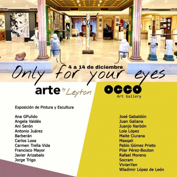Only for your eyes - Art Gallery