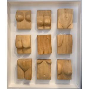 Sculpture - Nicole in pieces