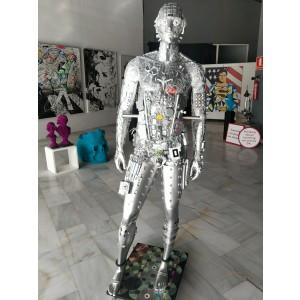 Escultura - Silver Man
