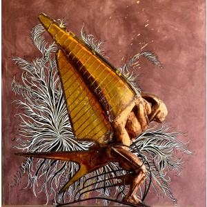 Sculpture from Jesus de la Vega - Golondrina de oro