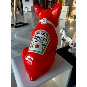 Escultura - The WINSTON Heinz tomatodog