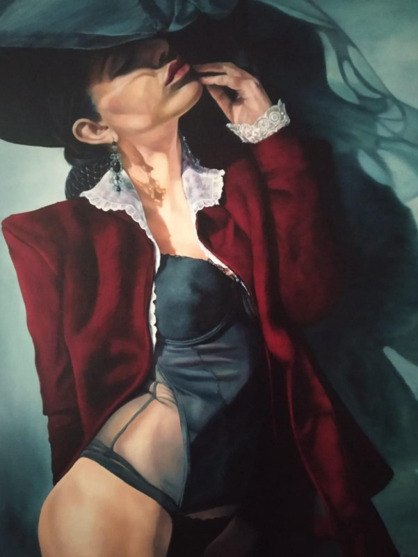 Painting from Penélope Andrés - Red Velvet